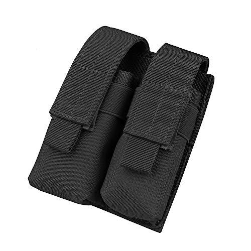 Gexgune Jagd Magazin Tasche, Nylon Mag Beutel Taktische Doppel Molle Pistole Magazin Beutel für 1911 Glock 9mm (2 Farbe optional)