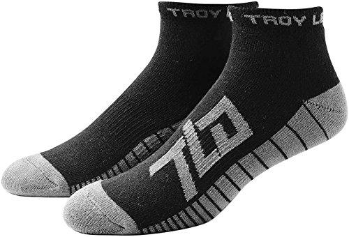 Troy Lee Designs DREI Paar Socken Factory Quarter, Herren, schwarz, EU 44-47 / US 11-13
