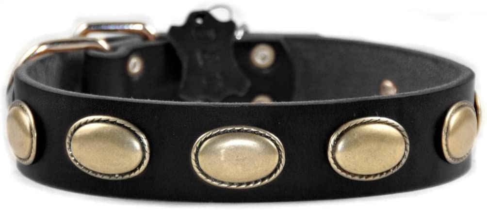 Dean and Tyler Retro RULZ Dog Black Nickel Collar Hardware - OFFicial shop Reservation