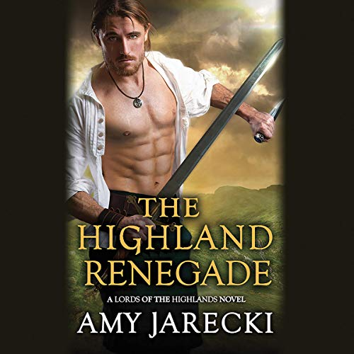 The Highland Renegade audiobook cover art