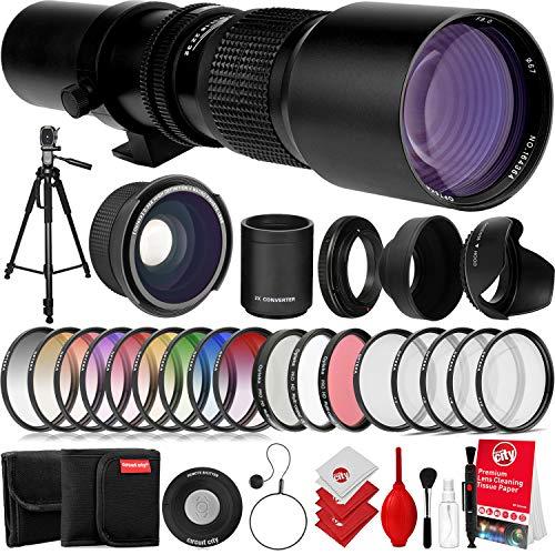 Opteka 500mm / 1000mm f/8 High Defi…