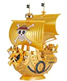 Bandai Hobby Grand Ship Collection Thousand-Sunny Conmemorative Color Ver. Kit de construcción One Piece Film Gold