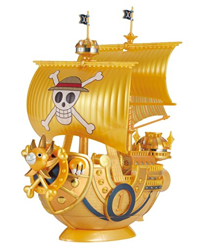 Bandai Hobby Collection Grand Ship Thousand-Sunny commémorative Color Ver. Kit de Construction One Piece Film Gold