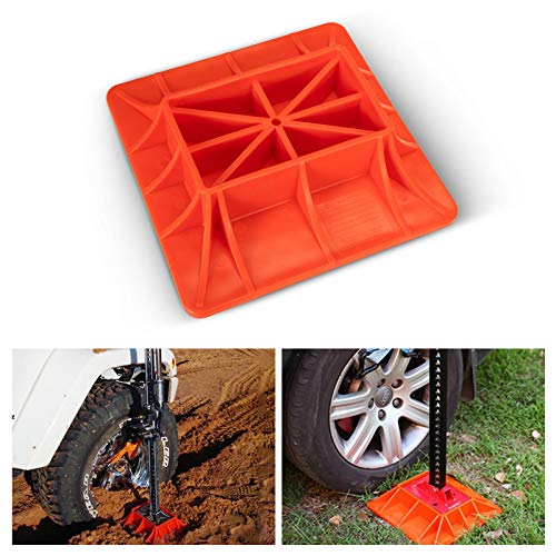 BUNKER INDUST Farm Lifting Jack Base,Hi Lift Jack Support Plate Board Offroad 4x4 Sand Mud Snow Recovery for Car Truck Jeep ATV SUV UTV