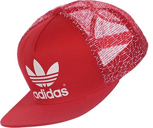 Gorra Adidas Trucker FB ST. rojo / blanco L
