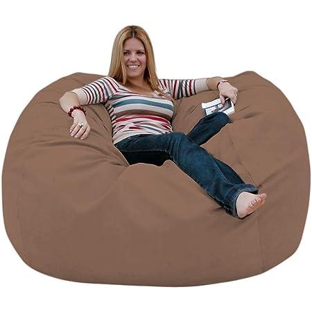 Cozy Sack 5-Feet Bean Bag Chair, Large, Earth