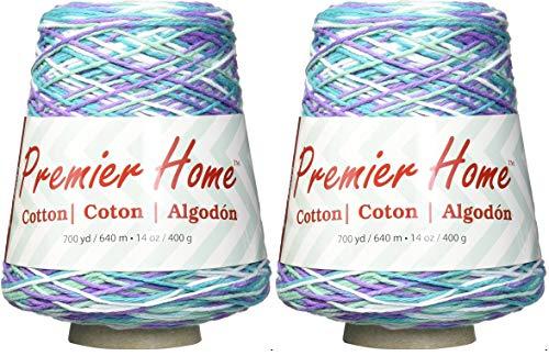 Premier Yarns Home Baumwollgarn – Multi Cone, 2er-Pack, 1032-06 Seerosen