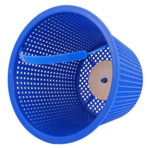 iplusmile Cestello per Skimmer con Manico - Cestello Filtro per Piscina - Ricambio per Piscine Interrate E Fuori Terra