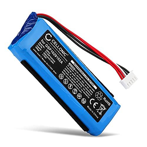 CELLONIC® Batería de Repuesto GSP1029102A Compatible con JBL Charge 3, 6000mAh GSP1029102A Accu Altavoz, Speaker Battery