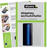 dipos I 6X Schutzfolie matt kompatibel mit Sony Xperia 10 II Folie Bildschirmschutzfolie (bewusst Kleiner als das Glas, da Dieses gewölbt ist)
