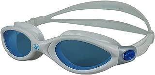 Barracuda Swim Goggle AQUALIGHTNING - Curved Lenses Streamline Design, Anti-Fog UV Protection, One-Piece Frame Soft Seals for Adults Men Women IE-32420