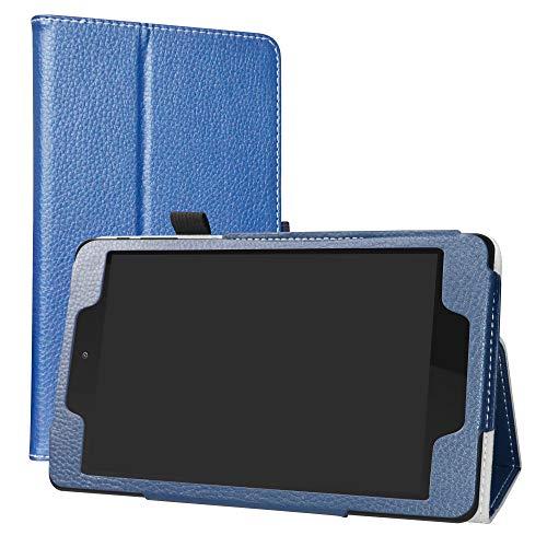 LiuShan ALLDOCUBE M8 ALLDOCUBE iplay8 pro hulle Folding PU Leder Tasche Hulle Case mit Stander fur 80 ALLDOCUBE M8 ALLDOCUBE iplay8 proNot fit ALLDOCUBE M8 100 inch Android TabletBlau