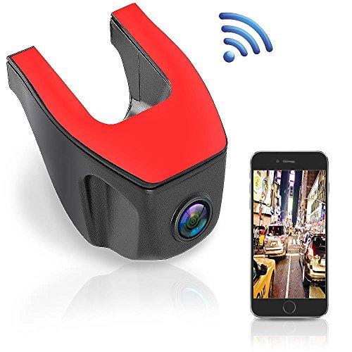 Wifi HD Car Dash Camera - Upgraded 1080p Dashboard Video Cam Recorder...