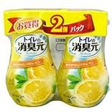 消臭元 トイレの消臭元 爽やかはじけるレモン(400mL*2コ入)
