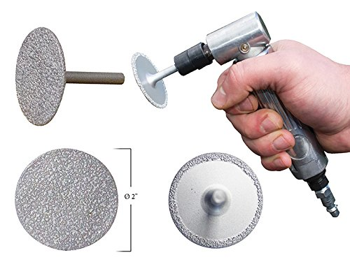 Innovative Products of America IPA 3-in-1 Diamond Grinding Wheel, 2