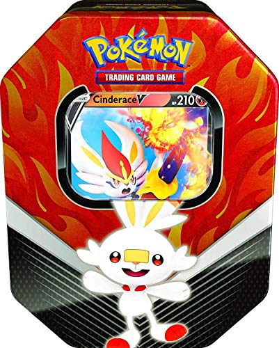 Pokemon Trading Card Game Galar Partners Tin Cinderace V