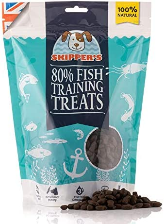 SKIPPER'S Training Treats for Dog Chews and Puppy Training Treats 500g – Source of Omega 3, Grain Free, Good for Digestion 100% Natural Ingredients No Additives – Dogs Corner