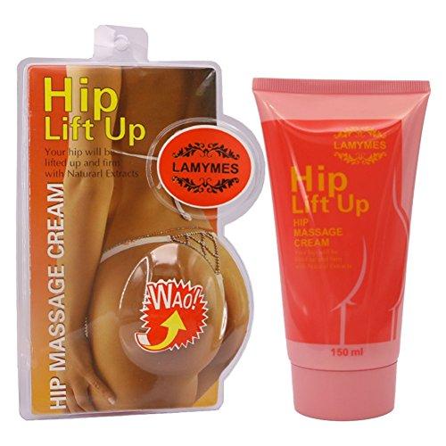 Fairylove 150g Hip Lift Up Fessier élargissement Crème de Massage Fesses Amélioration Butt Crème Raffermissante Anti Cellulite Creme Guarana Kapseln