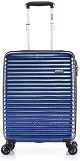 Verage Vortex 55cm Carry On Spinner Suitcase Navy