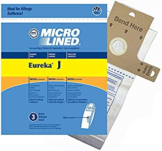 DVC Eureka Style J 61515C Micro Allergen Vacuum Cleaner Bags Made in USA [ 27 Bags ]