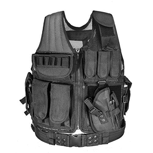 Mosie Veste tactique CS Field Équipement d'extérieur Fournitures Gilet tactique respirant léger Veste d'entraînement au combat des forces spéciales