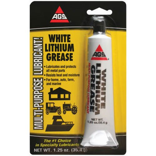 AGS WL-1H WHT Lithium Grease, 1.25 oz.