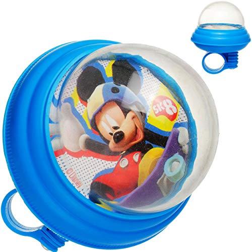 alles-meine.de GmbH Fahrradhupe Soft / Fahrradklingel - Disney - Mickey Mouse - UNIVERSAL Lenkerhupe / Klingel für das Fahrrad - laut - Kinder Jungen Mädchen - Lenkerklingel - au..