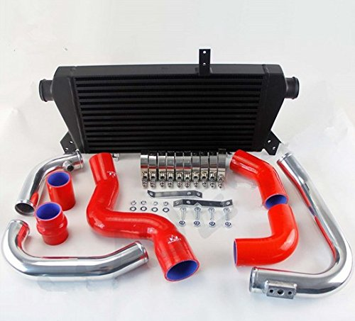 GOWE Front Mount Intercooler+Pipe Kit for Audi A4 1.8T Turbo B6 Quattro 02-06