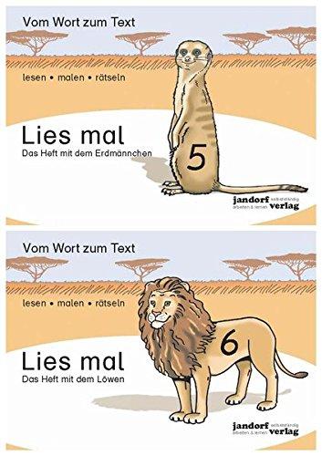 Lies mal - Hefte 5 und 6 (Paket): Vom Wort zum Text - Anfangslesen - Set