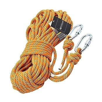 LIFEIYAN Corde De Puissance Extérieure Escalade Corde Escalade Rappel Corde Haute Altitude Protection Contre Les Chutes Équipement De Corde De Sécurité (Size : 5m)