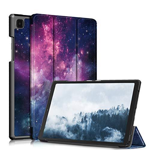 TOPCASE Custodia per Samsung Galaxy Tab A7 10.4 pollici 2020 SM-T500/SM-T505/SM-T507Ultra-sottile Cover con Funzione Supporto,Nebulosa