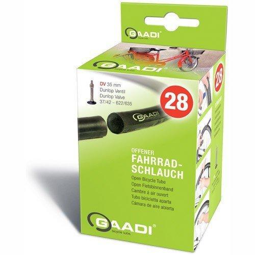 Gaadi 10317016 111 Dunlop - Cámara de aire para bicicleta (válvula de 40 mm)