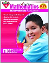 Everyday Intervention Activities for Math Grade 4 Book by April Barth (2011-01-01)