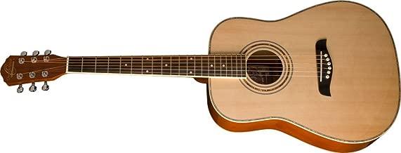 Oscar Schmidt OG1 Left-Handed 3/4-Size Acoustic Guitar - Natural