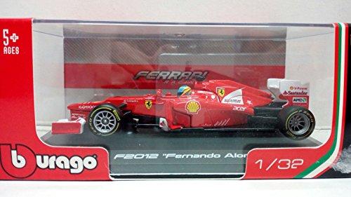 Mac Due S.P.A- Auto 1:32 Burago Ferrari Coll.Scude 46810, Multicolore, 873039