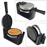 Best Waffle Makers Flips - Stainless Steel 180° Rotating Electric Waffle Maker Review