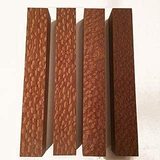 Leopardwood aka Lacewood 7/8 Inch Pen Blank - 4 Pack
