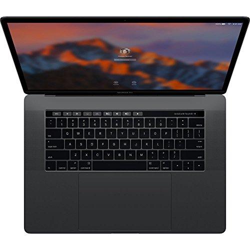 Apple MacBook Pro 15' 2016 with TouchBar - 2.6GHz i7 - 16GB RAM - Radeon Pro 450 2GB -256GB SSD (A), Space Grey (Renewed)