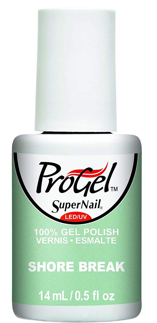 航空シダ寄稿者SuperNail ProGel Gel Polish - Shore Break - 0.5oz / 14ml