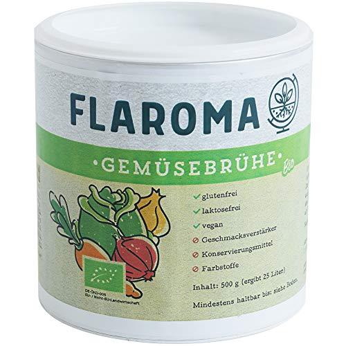 BIO Gemüsebrühe 500g - 25L, ohne Geschmacksverstärker, Glutamat, Hefeextrakt, glutenfrei, laktosefrei, vegan, Brühe und Gewürz - Suppenhandel