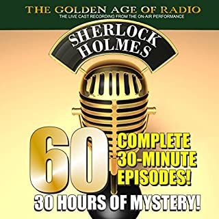 The New Adventures of Sherlock Holmes: 60-Episode Set audiobook cover art