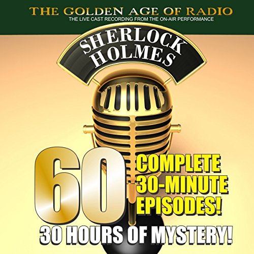 The New Adventures of Sherlock Holmes: 60-Episode Set                   By:                                                                                                                                 PDQ AudioWorks,                                                                                        Arthur Conan Doyle                               Narrated by:                                                                                                                                 Basil Rathbone                      Length: 28 hrs and 17 mins     230 ratings     Overall 4.3