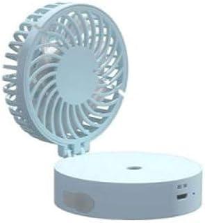 Nonebranded Ventiladores de sobremesa Mini Verano portátil de Mano Plegable Ventilador de Niebla de Agua USB humidificador de Aire Acondicionado Recargable con