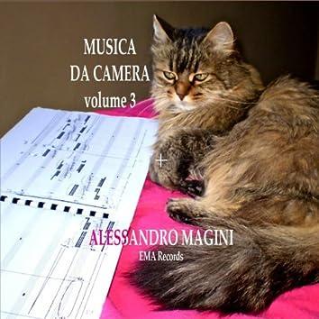 Alessandro magini: Musica da camera, vol. 3