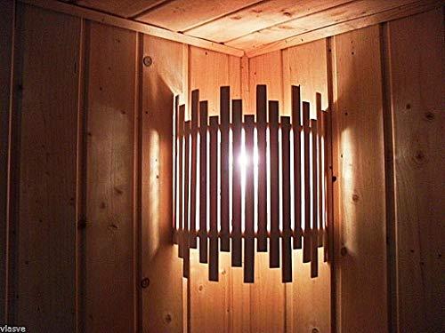 Holz-Sauna-Lampenschirm Neu
