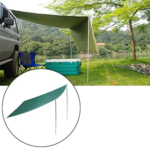 CHENSHJI Schattenpatio-Markise Folding Anti-UV-Autodach-Sonnenschutz-Zelt Auto Outdoor-Camping-Dachzelt (Color : Blue, Size : 2.8×1.8m)