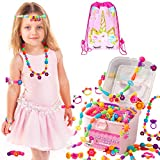 ORIAN Pop Beads Jewelry Making Kit for Girls, 550+ Piece Set, Pop Beads for Girls Ages 3 and Up, Fun and Colorful...