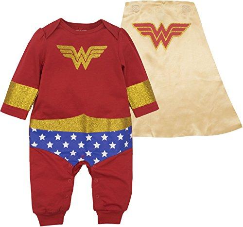 Wonder Woman Baby Girls' Costume