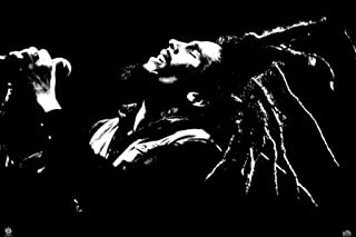 Pyramid Bob Marley Black and White Wall Poster