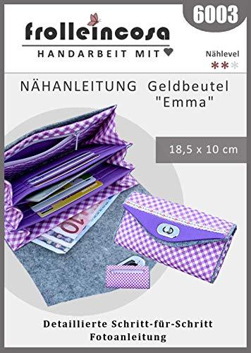 frollein cosa Nähanleitung 6003 Geldbeutel Emma